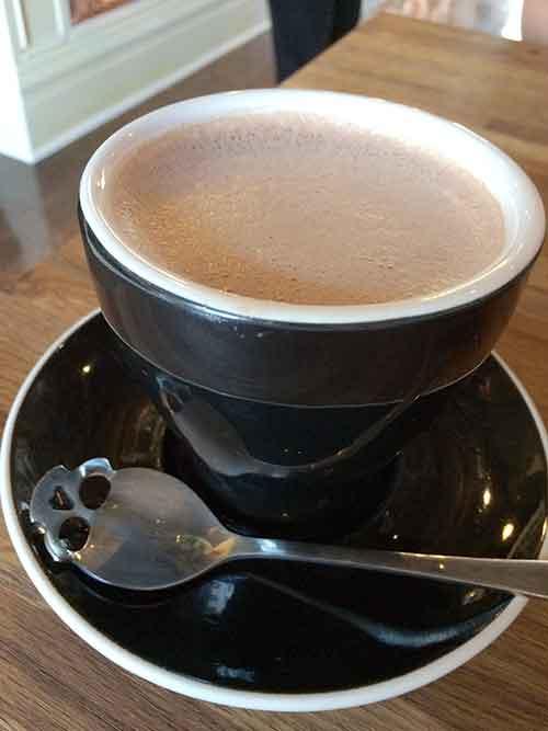 Artisan Cafe hot cocoa