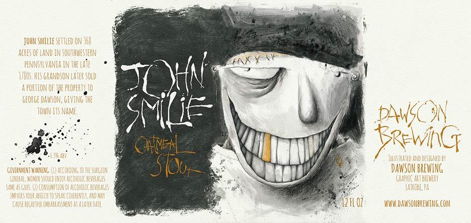 John Smilie beer label